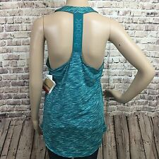 Reebok Top Tank M Athletic Running Gym Training Yoga Workout Racerback Green New
