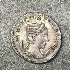 Otacilia Severa, wife of Phillip I, 244-249 AD, RARE Bronze Denarius VF