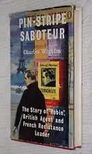 Pin-Stripe Saboteur by Charles Wighton(1959, Hardback), Free postage+tracking