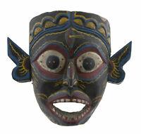 Kali Antico Maschera Nepalese Mahakali Himalaya-Animista Sciamano Nepal 26721