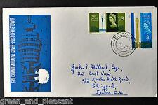 SG679 phosphor WP75b error Post Office Tower 8/10/1965 Chingford CDS FDC