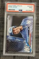 2018 Topps Update Derek Jeter #US250 SP Photo Variation Yankees *PSA 9 MINT