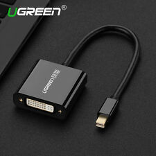 UGREEN Active Mini DisplayPort DP to DVI Adapter Thunderbolt Mac HDTV PC1080P