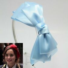 GOSSIP GIRL HEADBAND HAIR ACCESSORY HAT BOW BAND RIBBON BOW HEAD PIECE HB1371