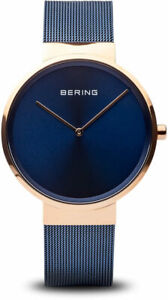 Bering Time Watch - Classic - Mens Polished Rose Gold-Tone 14539-367
