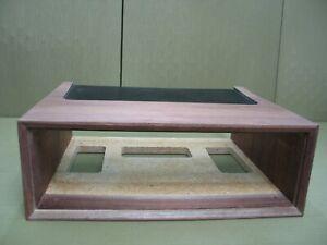 Marantz WC-22 Solid Black Walnut Case