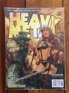 Heavy Metal Magazine #298 TAARNA Cover (Richard Corben's Murky World) NEW Sealed