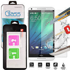 TEMPERED GLASS SCREEN PROTECTOR ANTI SCRATCH FILM For HTC Desire 650 uk seller