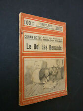 CONAN DOYLE-Sherlock Holmes/Le roi des renards-Paris S.E.P. Collection rouge-BE