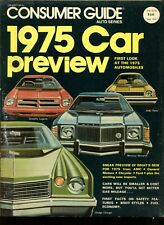 Vintage Consumer Guide Auto Series 1975 Car Preview