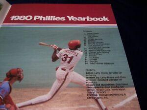 1980 WORLD SERIES CHAMPIONS PHILADELPHIA PHILLIES YEARBOOK EX/NEAR MINT