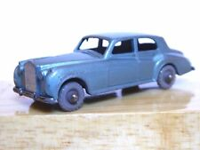 MATCHBOX Lesney No.44a Rolls-Royce Silver Cloud (Grigio Ruote in Plastica, Gc)