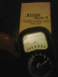 vintage light meter
