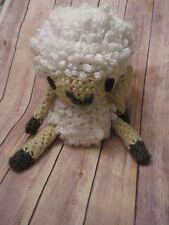 Crochet Lamb Sheep Stuffed Animal Nursery Baby Shower Plush