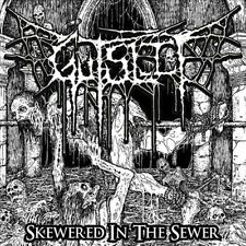 Gutslit - Skewered in the Sewer CD 2013 brutal death metal India