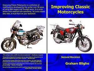 BSA Triumph Norton better brake shoes headlamp engine