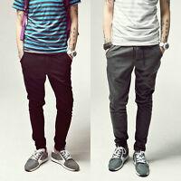 NEW Men Casual Harem Hip Hop Dance Skinny Taper Sweat Sport Pant Trousers Slacks