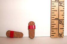 VINTAGE BARBIE RICKY DOLL #1090 RED STRAP CORK SANDLE SHOES VHTF 1965-1967
