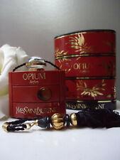 OPIUM YSL PARFUM 1/4oz Priceless Rare Vintage 1970- 1980s New Not Quite Mint Box