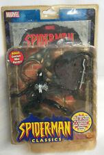 MARVEL Toy Biz SPIDERMAN CLASSICS Action Figure SPIDERMAN (Black Costume) MOC