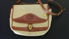 Dooney and Bourke All-Weather Leather Tan Beige Hand Bag Purse
