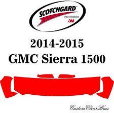 Genuine 3M Scotchgard Paint Protection Film Pre-Cut Kits 2015 GMC Sierra 1500