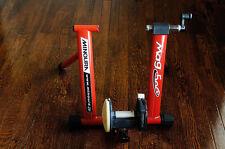 Minoura Mag-500 Trainer Flywheel Red Road Bike
