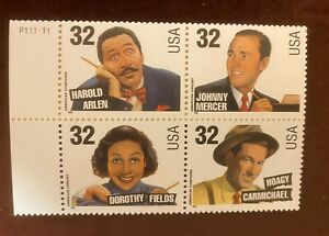 American Songwriters - USPS Stamps - 32cents