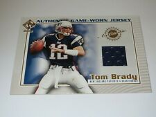 2002 PRIVATE STOCK RESERVE TOM BRADY AUTHENTIC GAME WORN JERSEY