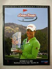 Suzann Pettersen LPGA Autographed Longs Drugs Challenge Golf Tournament Program