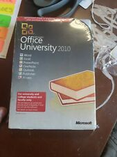 NIB MICROSOFT OFFICE UNIVERSITY 2010 FOR COLLEGE STUDENTS AND FACULTY ONLY $80
