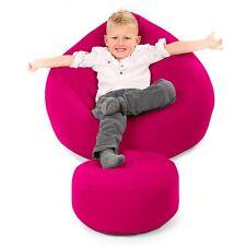 STARBUY Comfy Kids Classic Bean Bag Cerise Pink
