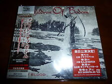 Children of Bodom / Halo of Blood JAPAN+2 SHMCD+DVD NEW!!!! A5