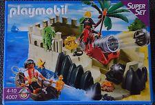 Playmobil Piratenfestung Super Set 4007 in OV mit Bauanleitung
