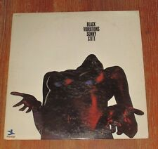 Sonny Stitt VERY RARE WHITE LABEL / PROMO LP BLACK VIBRATIONS~  MINT //  VG++