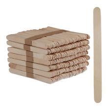 Eisstiele Holz 500 Stück Holzstäbchen Bastelstäbchen Holzstiele Popsicle Sticks