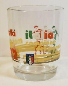 1982  SOCCER WORLD CUP NUTELLA MADRID ITALIA CAMPIONE DEL MONDO GLASS 16