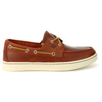 Sperry Top-Sider Men's Sperry Cup 2-Eye Burgundy Boat Shoes STS21496 NEW