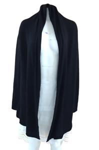 New Club Monaco Women Black Base Cristina Cashmere Cardigan Size XS/S NWT$249.50