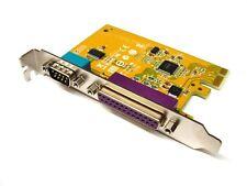 Dell Sunix Serial Parallel Expansion Multi I/O Card PCI-E PCI Express MIO6469A
