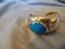 silver Shop Waz has it. Cuff Bracelet Natural Turquoise Mexico 925