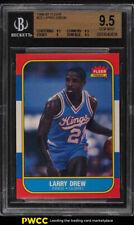 1986 Fleer Basketball Larry Drew #25 BGS 9.5 GEM MINT