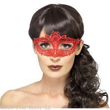 Womens Emroidered Lace Filgree Eye Mask Boutique Fantasy Masquerade Halloween