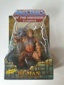 MOTUC MASTERS OF THE UNIVERSE CLASSICS He-man Motu 2008