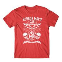 Horror Movie Club T-Shirt 100% Cotton Premium Tee New