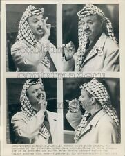 1974 Composite PLO Leader Yasser Arafat 1970s Press Photo