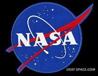 """AB EMBLEM ORIGINAL - NASA - 11"""" XL  VECTOR SPACE  PATCH MINT CONDITION*****"""