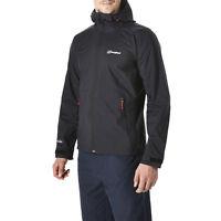 Berghaus Stormcloud Men's Waterproof Jacket 21191/BP6 Black NEW