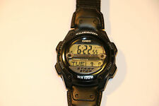 CASIO  ILLUMINATOR  WORLD TIME ALARM WATCH  WR 100 M  (WR100M) W-756