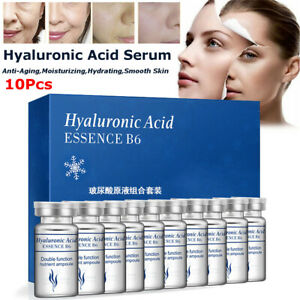 10X Serum Hydratant Acide Hyaluronique Vitamines Essence Pore Mise sous Film +A